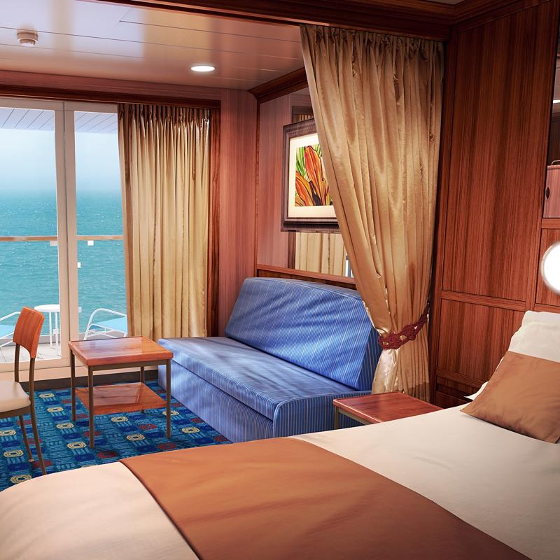 Mini-Suite with Balcony - Norwegian Star