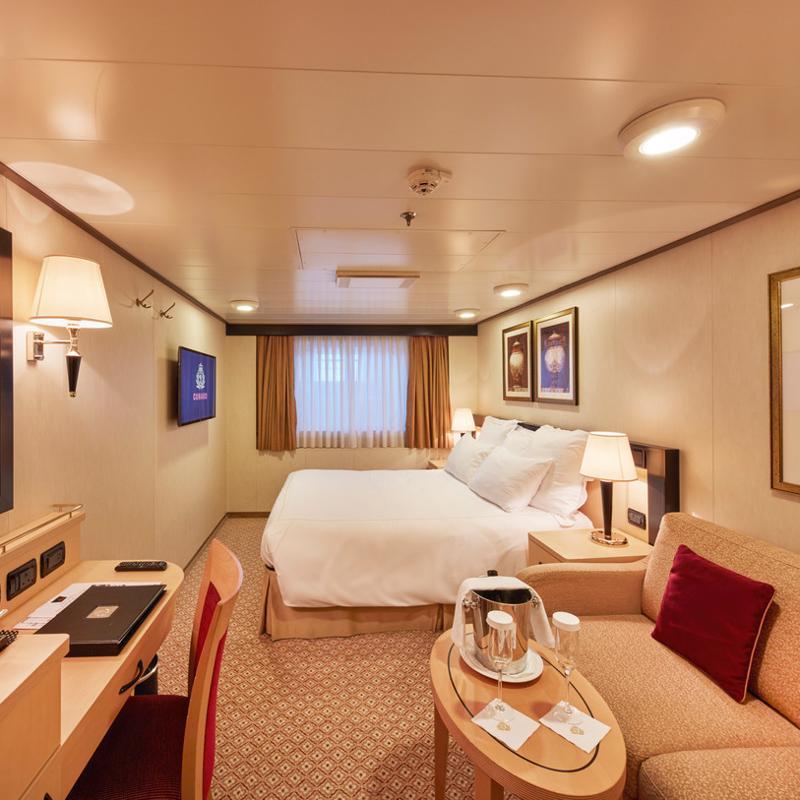 Oceanview Obstructed View - Cunard Queen Elizabeth