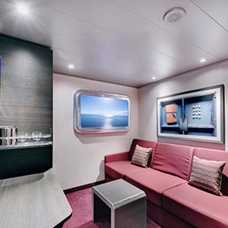 Cabins on MSC Grandiosa | IgluCruise