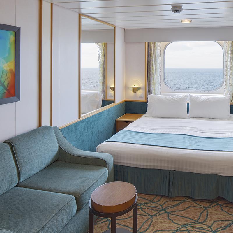 Spacious Ocean View cabin - Explorer of the Seas