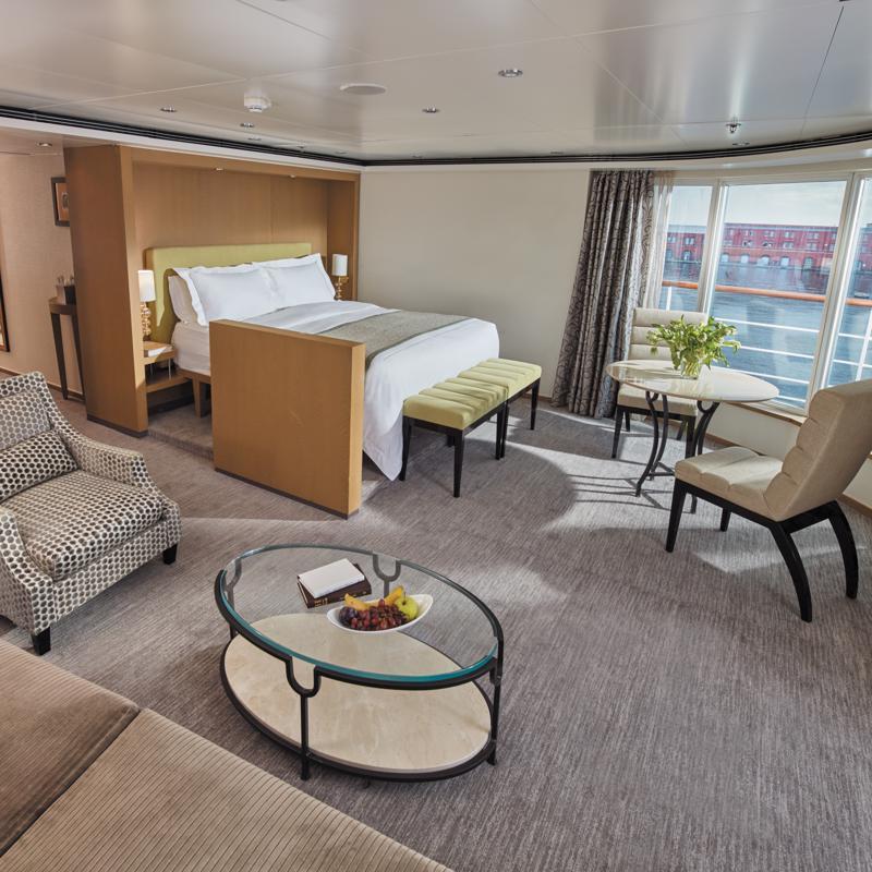 Seven Seas Suite on Regent Seven Seas Voyager