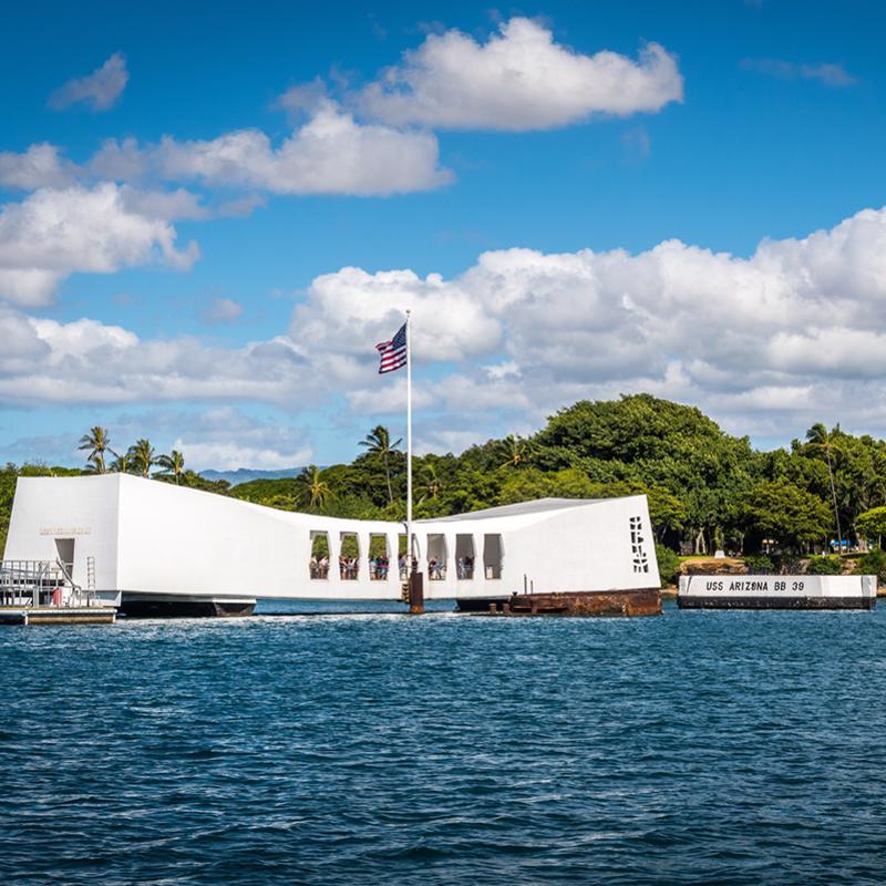 Pearl Harbor National memorial Honolulu Hawaii