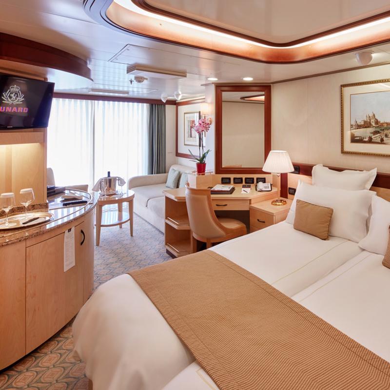 Princess Suites - Cunard Queen Elizabeth