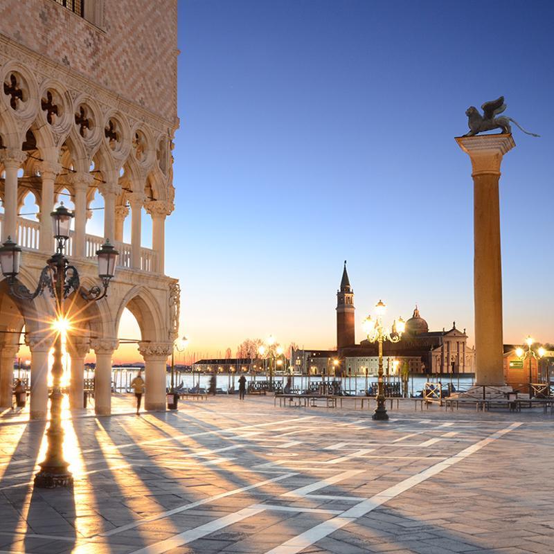 St. Mark's Square in Venice Italy