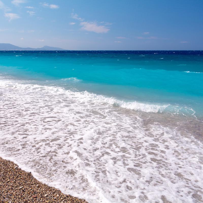 Elli Beach Rhodes Town Greece