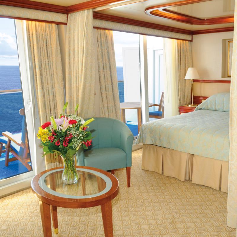 Vista Suite with Balcony - Island Princess