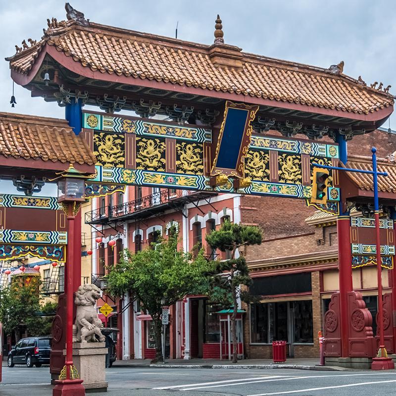 Chinatown District Victoria British Columbia Canada