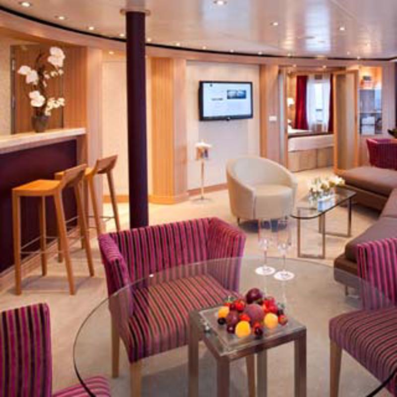 Owners Suite - Seabourn Sojourn