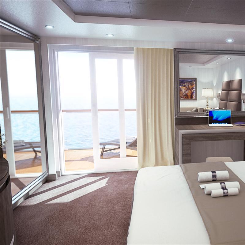 Yacht Club Royal Suite - MSC Seaside