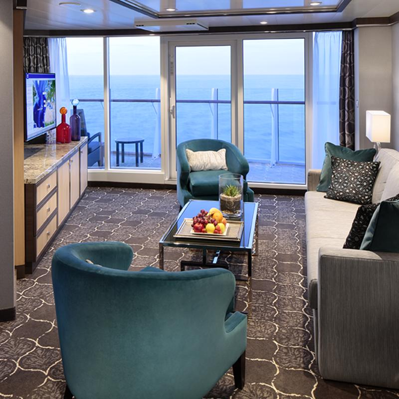 Spacious AquaTheatre Suite - 2 Bedrooms - Allure of the Seas