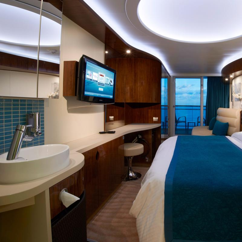 Balcony with Access to Thermal Spa - Norwegian Epic