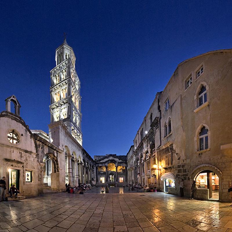 Peristil Square Split Croatia