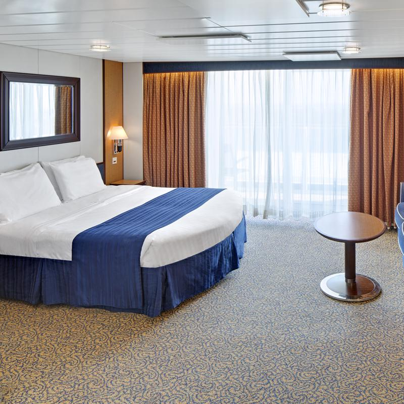 Spacious Ocean View with Balcony-Jewel of the Seas