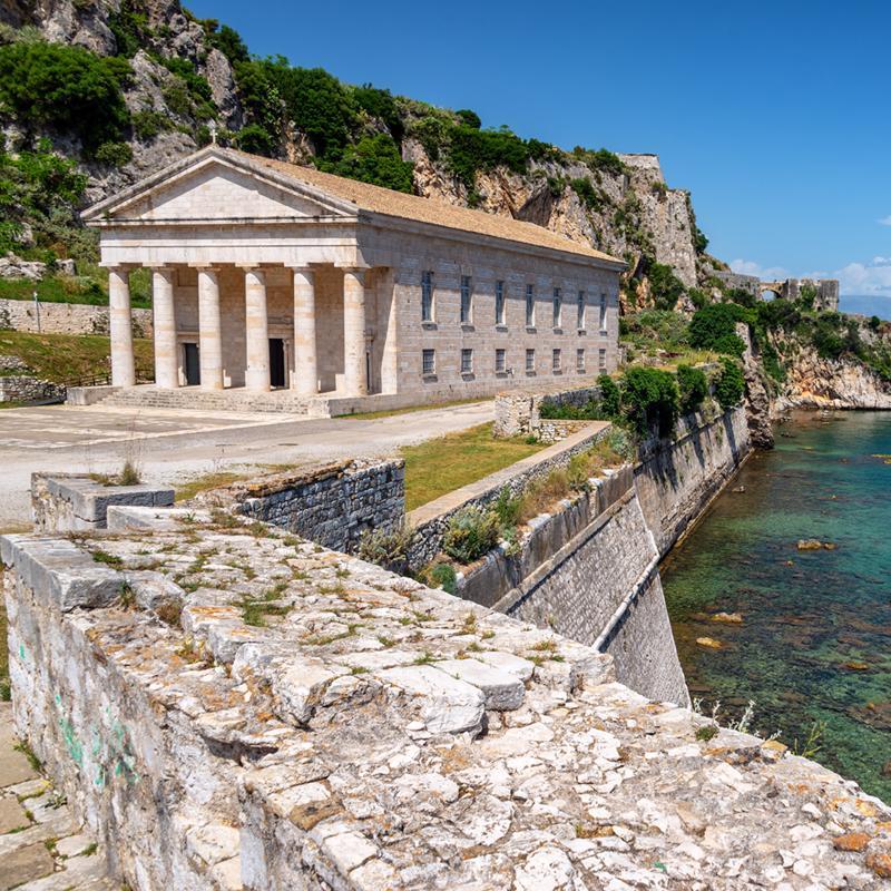 Saint George Church Corfu Greece
