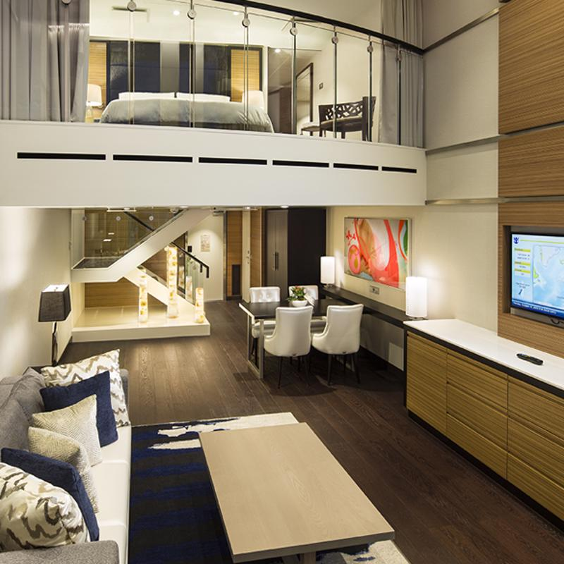 Sky Loft Suite with Balcony-Ovation of the Seas