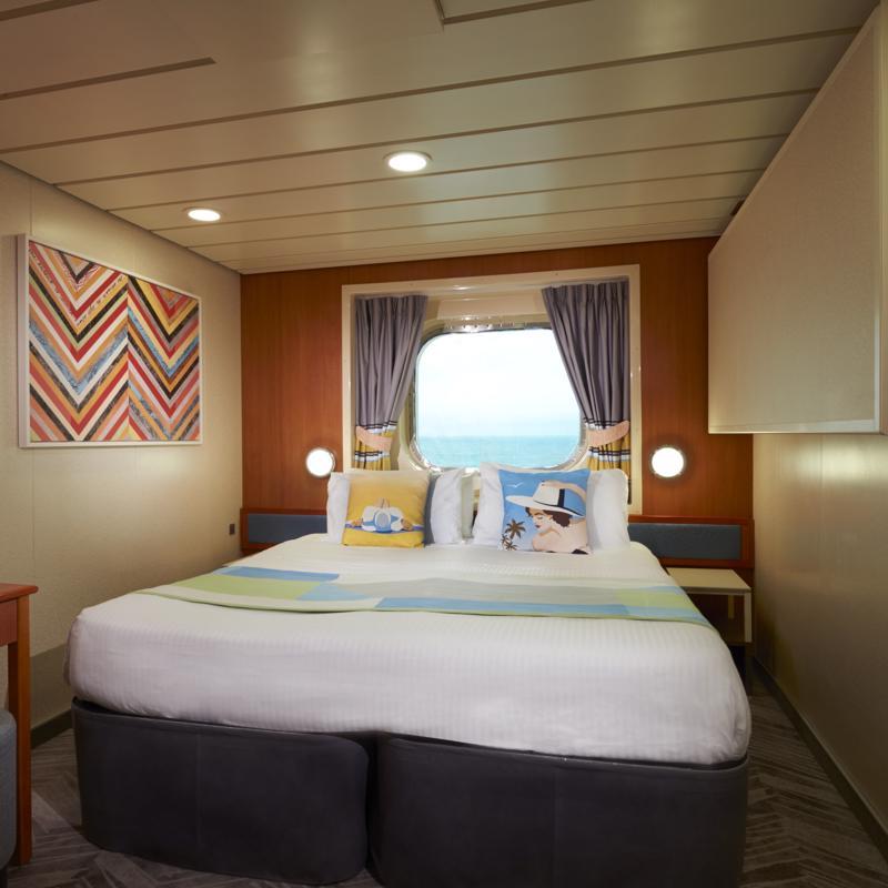 Mid-Ship Oceanview Picture Window - Norwegian Dawn