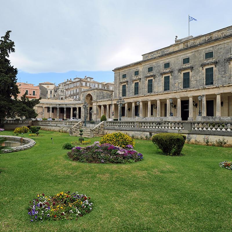 Corfu Town Esplanade Corfu Town Greece