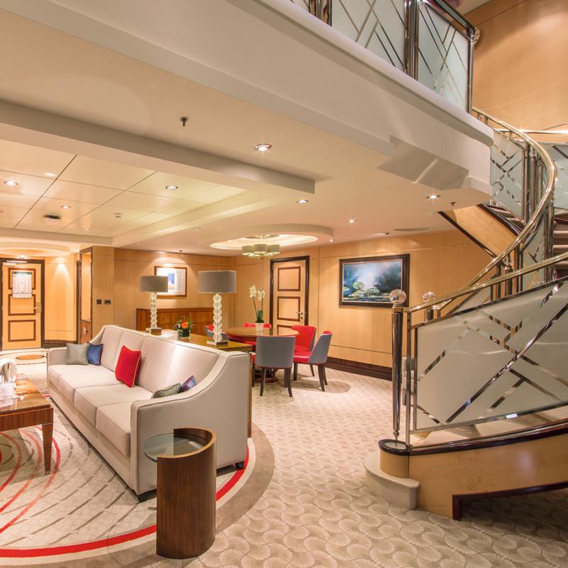 Duplexes & Suites - Cunard Queen Mary 2