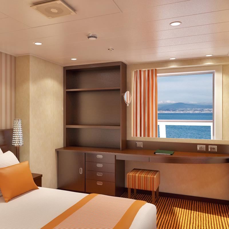 Captains suite - Carnival Splendor