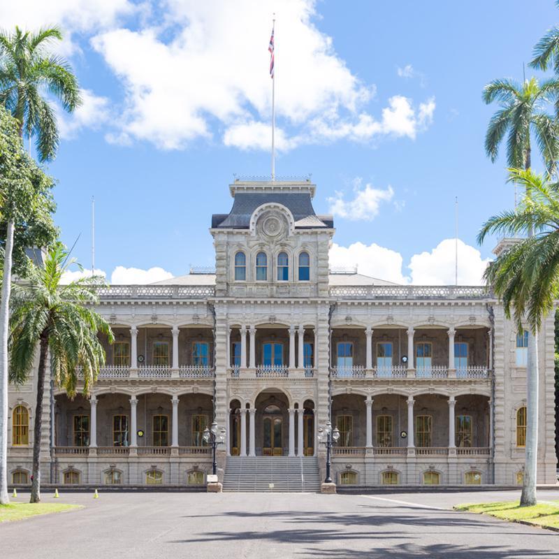 Iolani Palace Honolulu Hawaii