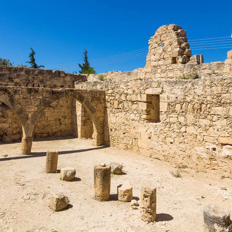 Kolossi Castle Limassol South Cyprus
