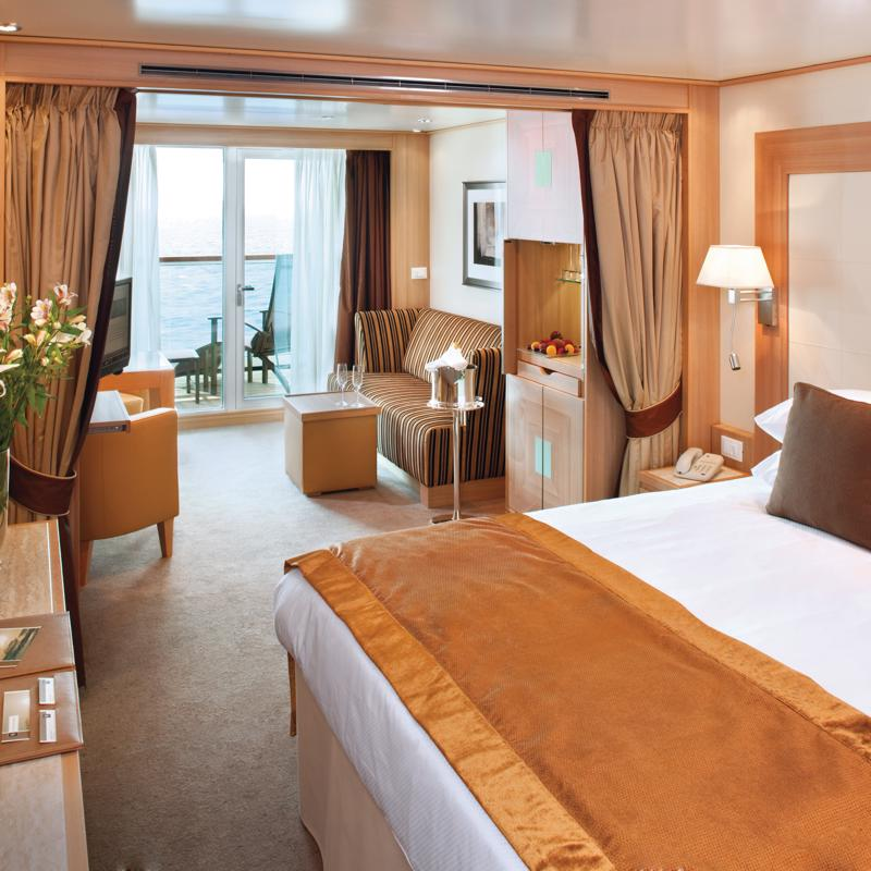 Guaranteed Veranda Suite - Seabourn Ovation