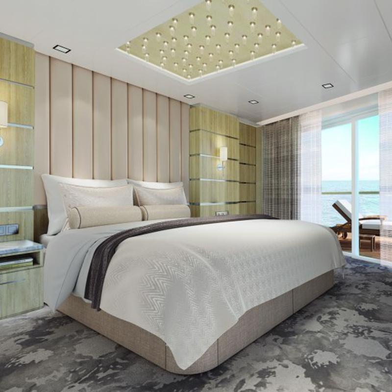 The Haven Deluxe Owner's Suite with Balcony-Norwegian Gem