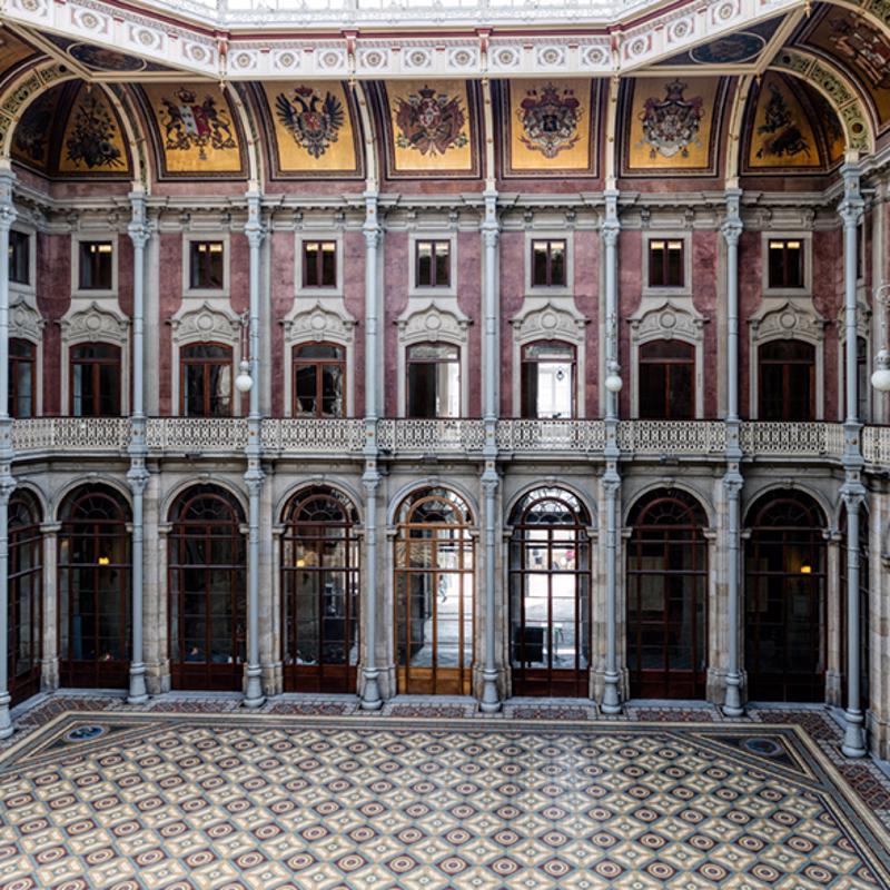 Bolsa Palace Porto Portugal