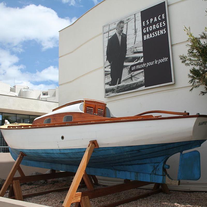 Espace Georges Brassens Sete France