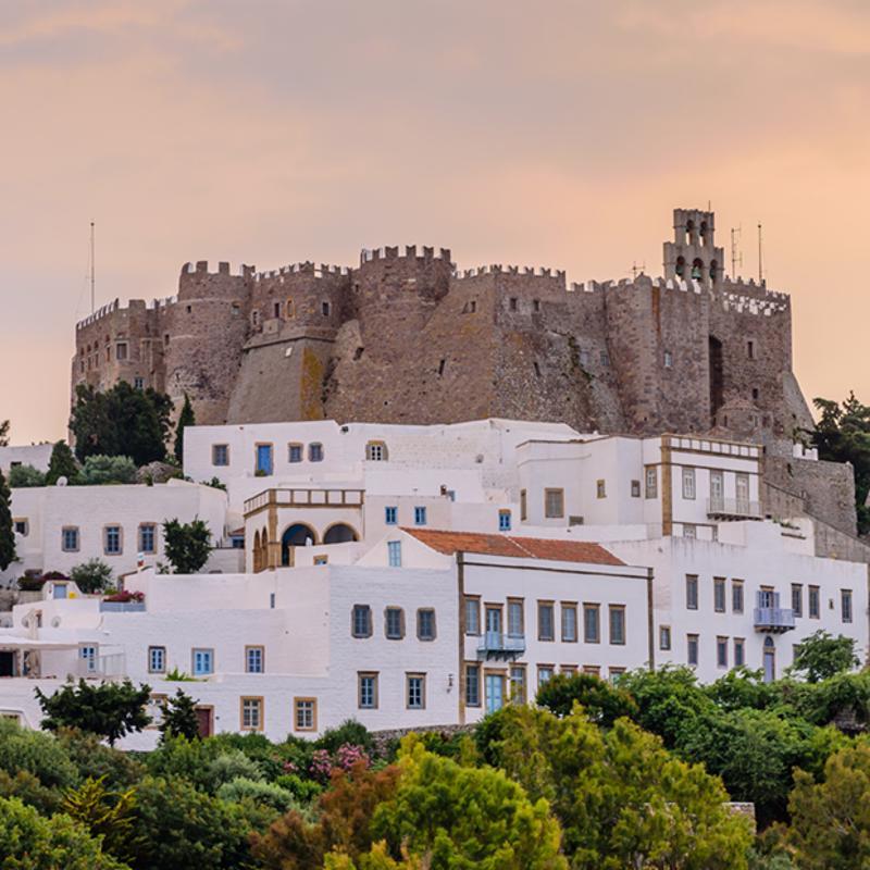 Monastery of Saint John Patmos Greece