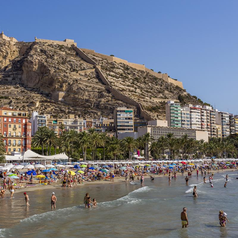 Playa del Postiguet Alicante Spain