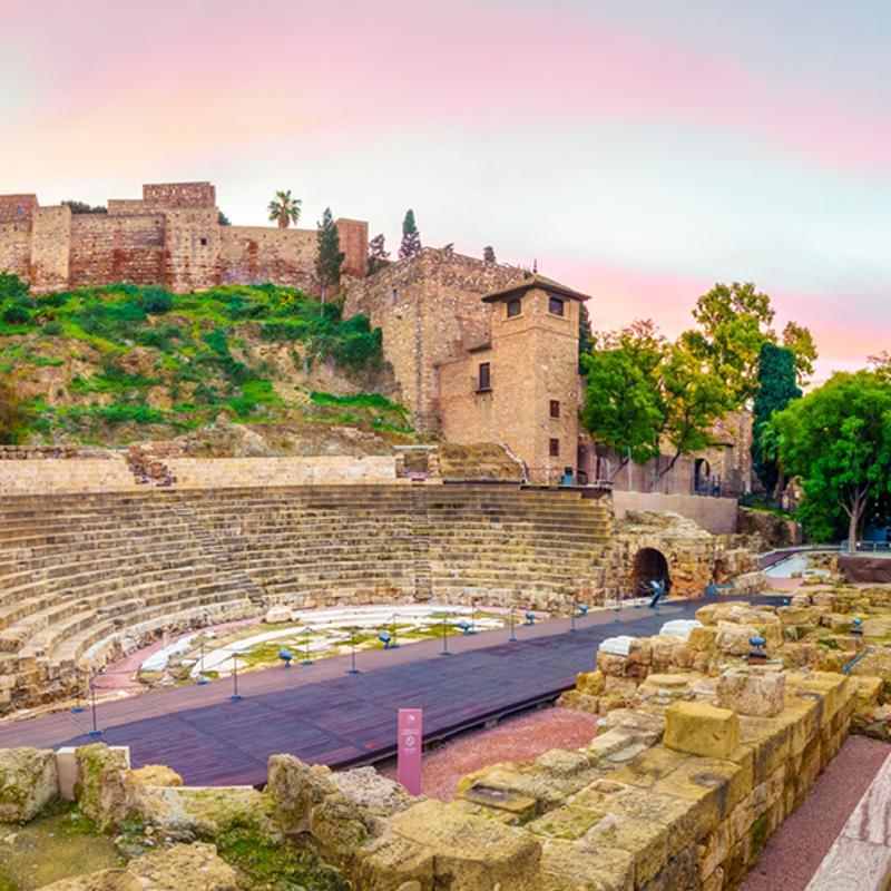 Roman Theatre Malaga Spain
