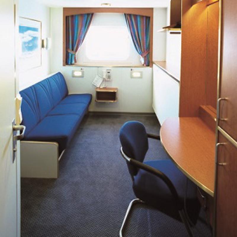 Polar Outside Middle Deck - MS Nordnorge