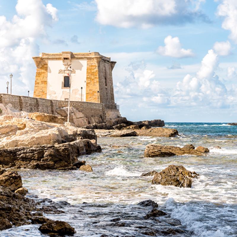 Ligny Tower Traoani Sicily Italy