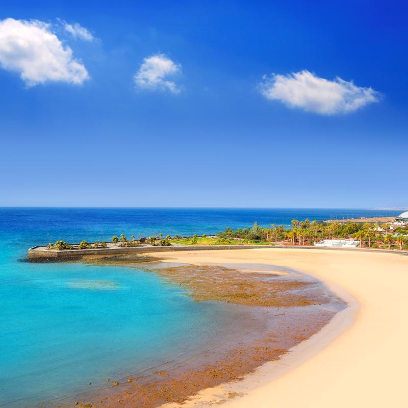 Playa del Reducto Arrecife Lanzarote Spain