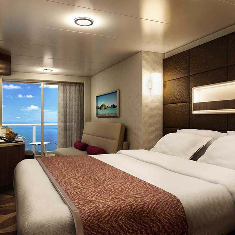 Mid-Ship Mini-Suite with Balcony - Norwegian Escape