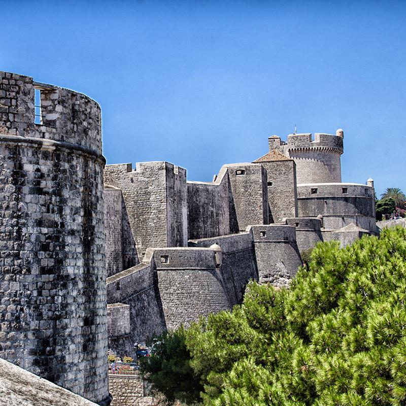 Muralles de Dubrovnik Croatia