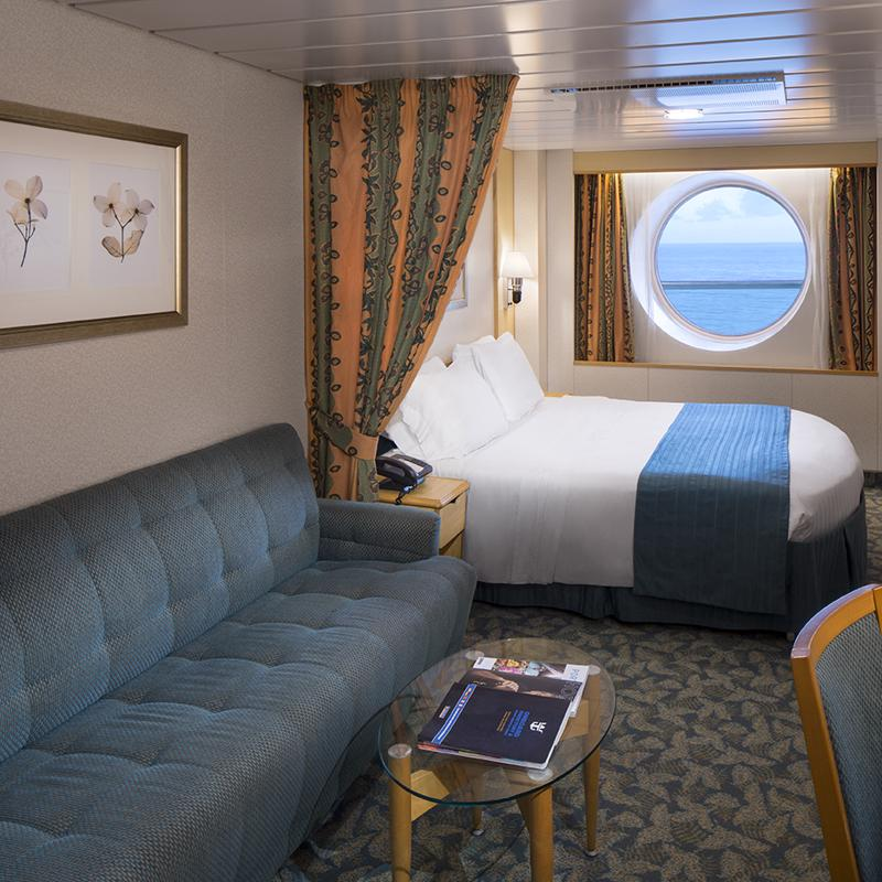 Ultra Spacious Ocean View cabin - Independence of the Seas