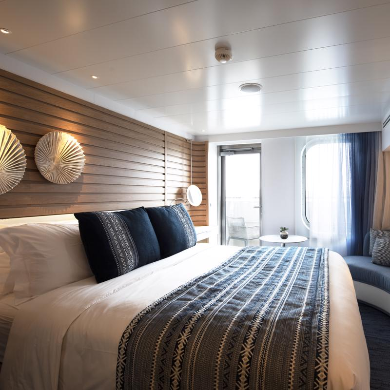 Deluxe Stateroom with Balcony - Le Surville