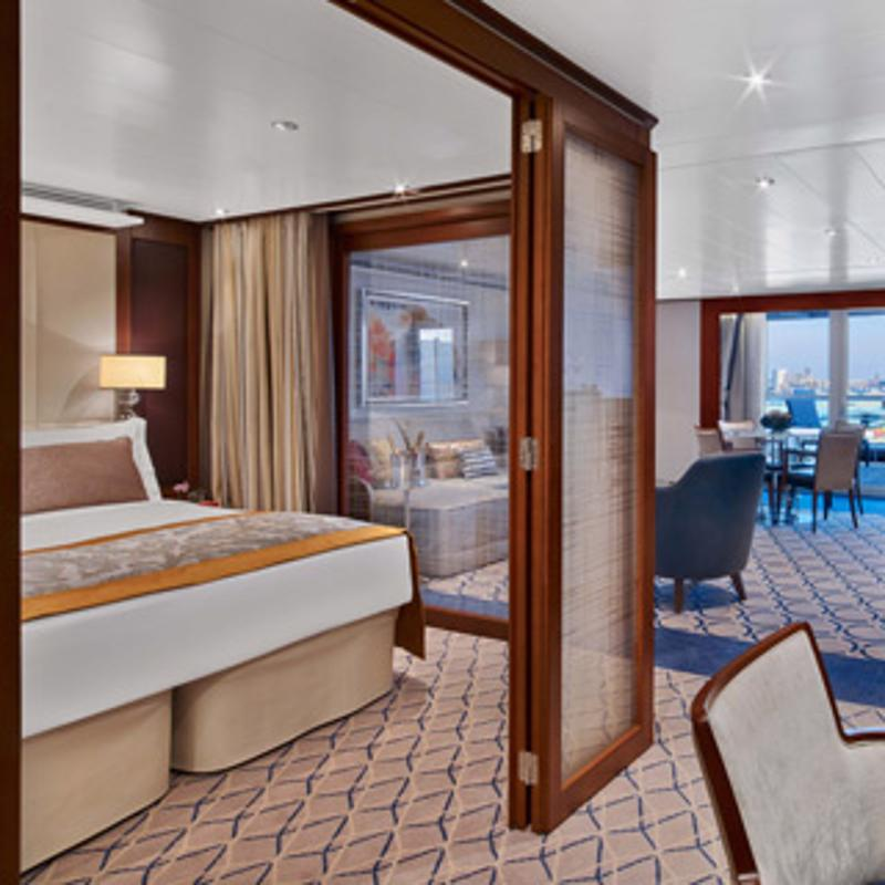 Penthouse Spa Suite - Seabourn Ovation
