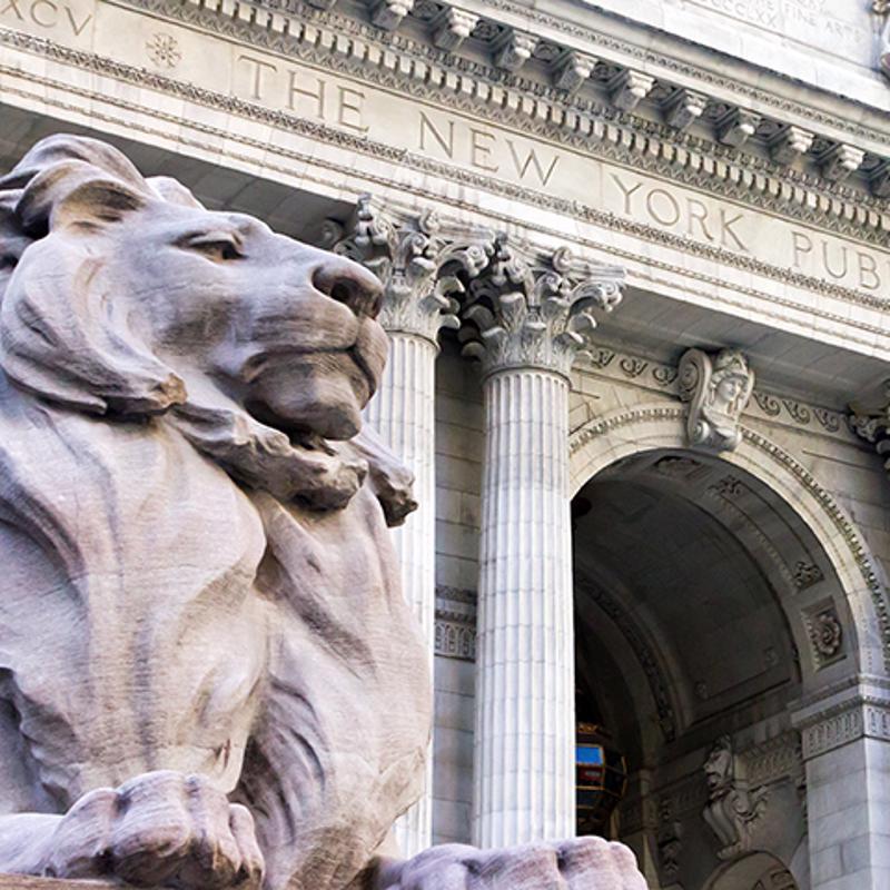 New York Public library New York USA