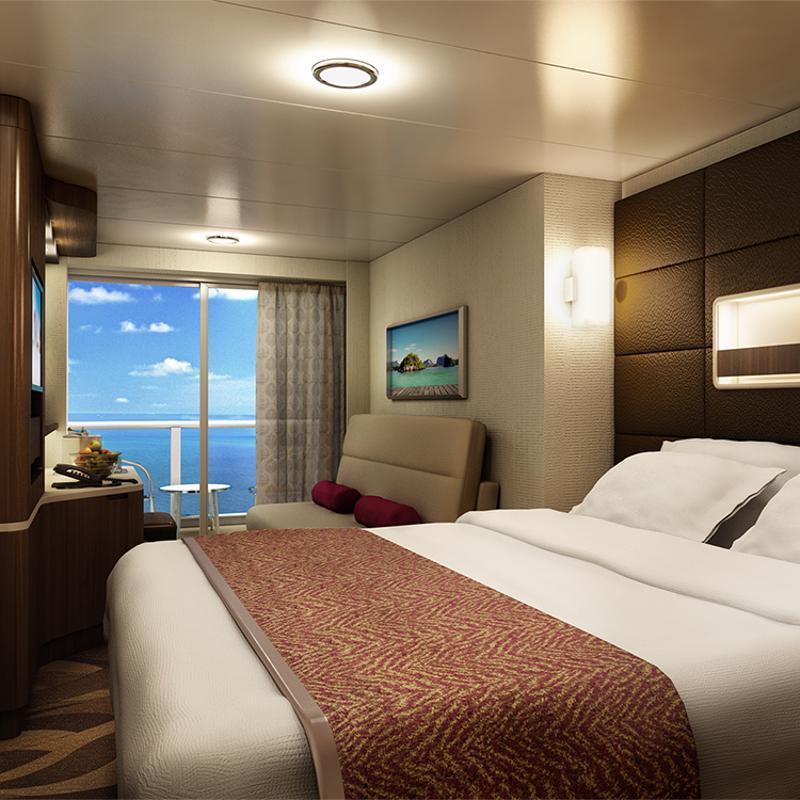 Spa Mini-Suite with Balcony - Norwegian Escape
