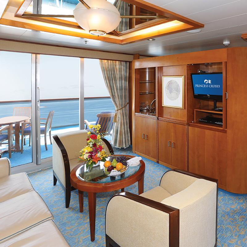 Owner's Suite - Sun Princess