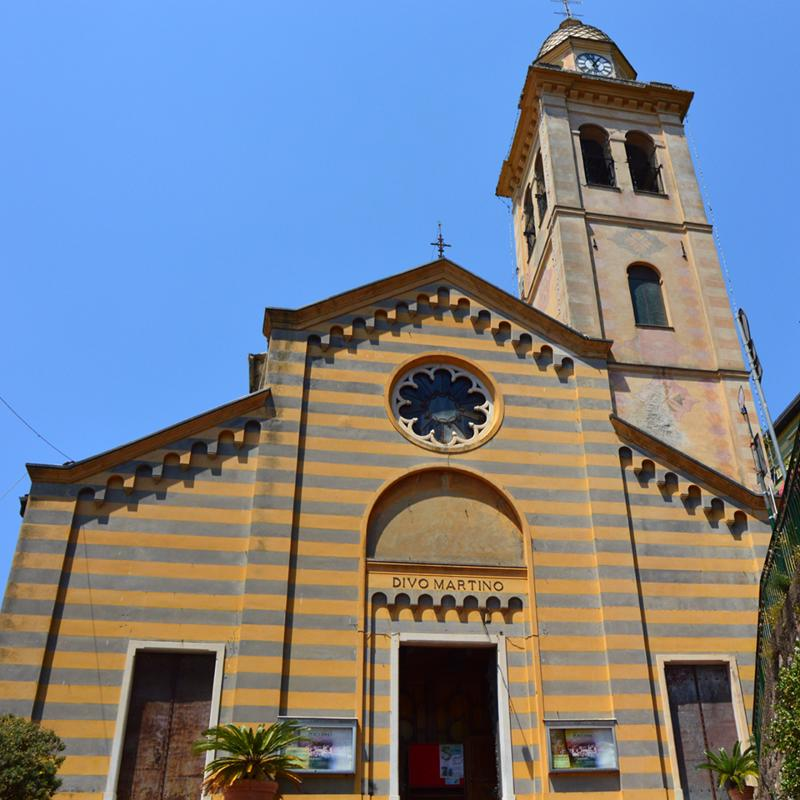 San Martino Church Portofino Italy