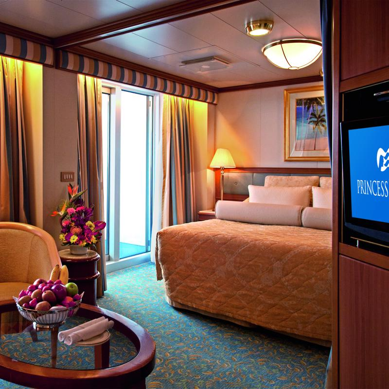Two Bedroom Family Suite - Crown Princess
