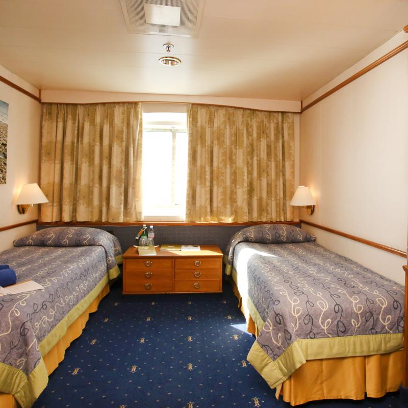 Exterior stateroom with window - Celestyal Olympia