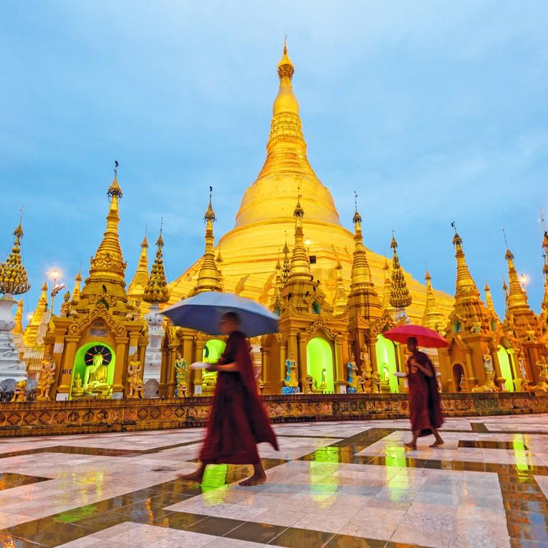 Yangon, Myanmar - Overnight onboard