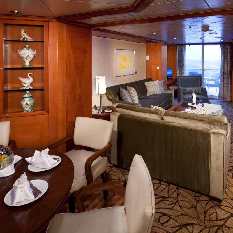 Royal Suite Celebrity Infinity