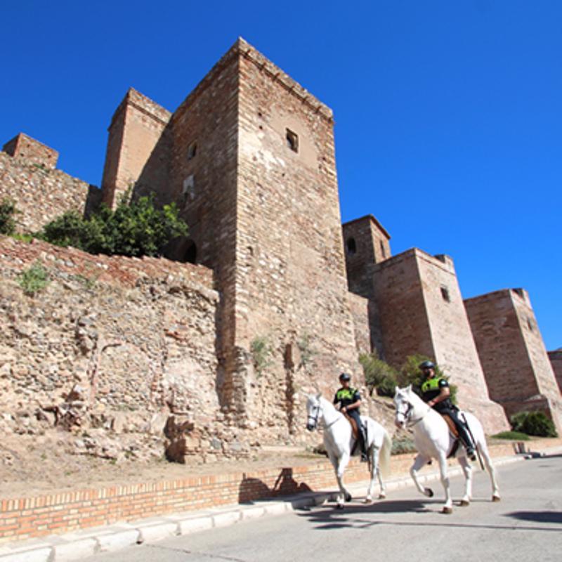 Castilo de Gibralfaro Malga Spain