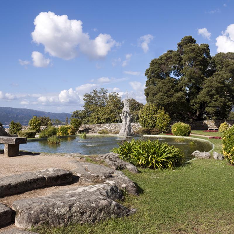 Parque del monte Castro Vigo Spain